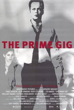 The Prime Gig - Theatrical release poster
