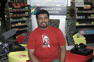 Raghu Dixit - Raghu Dixit as photographed in an audio release for the band Nee