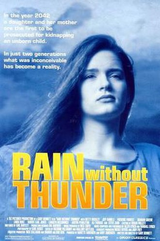 Rain Without Thunder - Rain Without Thunder Theatrical Poster