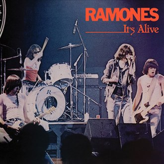 It's Alive (Ramones album) - Image: Ramones It's Alive cover