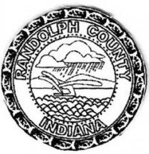 Randolph County, Indiana - Image: Randolph County, Indiana (logo)