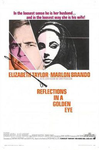 Reflections in a Golden Eye (film) - Image: Reflections in a golden eye