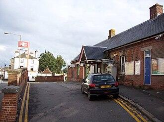 Reigate railway station - Exterior of Reigate railway station