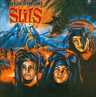 Return of the Giant Slits - Image: Return Of The Giant Slits Cover