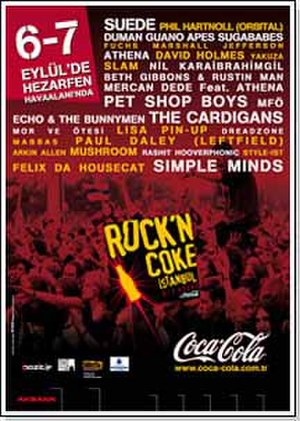 Rock'n Coke - Image: Rockn Coke 2003poster
