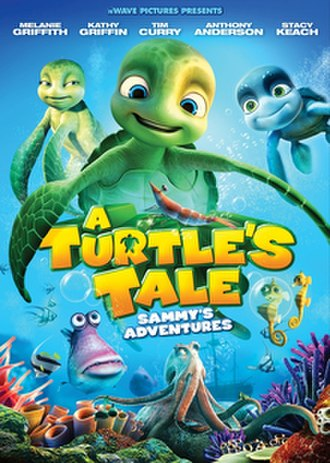 A Turtle's Tale: Sammy's Adventures - Theatrical release poster