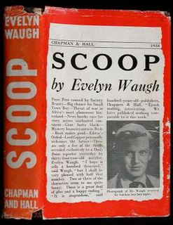 <i>Scoop</i> (novel) novel by Evelyn Waugh
