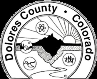 Dolores County, Colorado - Image: Seal of Dolores County, Colorado