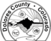 Seal of Dolores County, Colorado