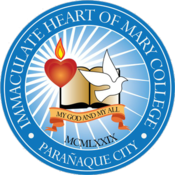 Seal of Immaculate Heart of Mary College - Paarañaque.png