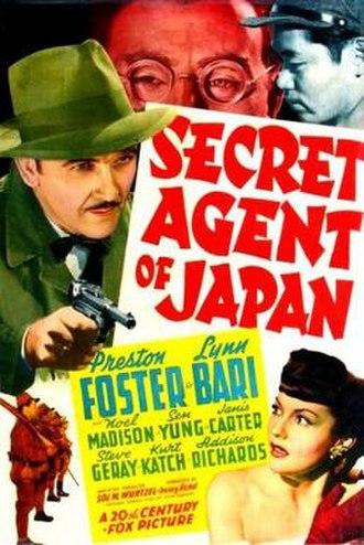 Secret Agent of Japan - Image: Secret Agent of Japan Film Poster