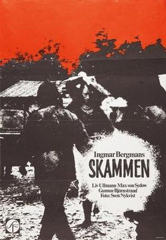 Shame (1968 film) - Theatrical poster