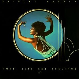 Love, Life and Feelings - Image: Shirley Bassey Love, Life and Feelings