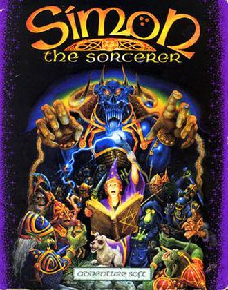 Simon the Sorcerer - Image: Simon 1 cover