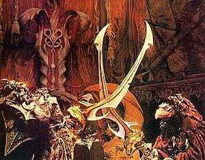 Skeksis - skekUng and skekSil perform the Trial By Stone.
