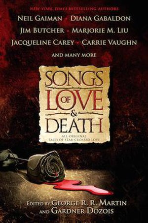 Songs of Love and Death (anthology) - First edition cover