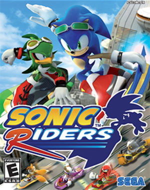 Sonic Riders - Image: Sonic Riders Coverart