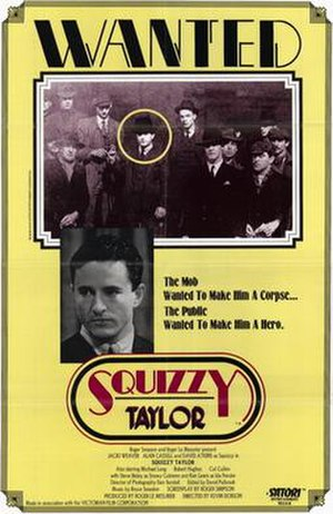 Squizzy Taylor (film) - Image: Squizzy taylor movie poster 1982