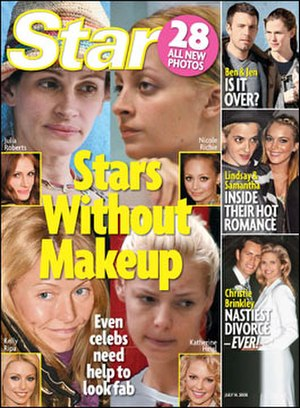 Star (magazine) - July 14, 2008 cover of Star