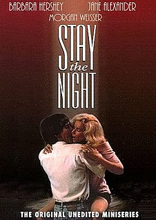 <i>Stay the Night</i> (film) 1992 television film directed by Harry Winer