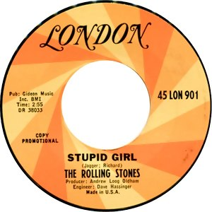 Stupid Girl (The Rolling Stones song) - Image: Stupid Girl