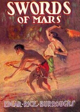 Swords of Mars - Dust-jacket of Swords of Mars