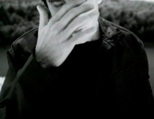 """The Day the World Went Away - Trent Reznor in """"The Day the World Went Away"""" music video."""
