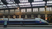 TGV Duplex power car in profile