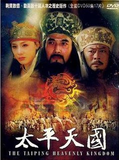 <i>The Taiping Heavenly Kingdom</i> (TV series) Chinese television series about the Taiping rebellion