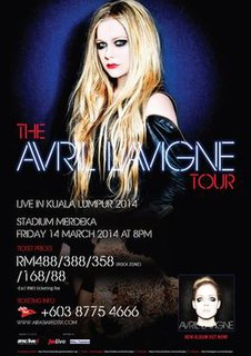 The Avril Lavigne Tour