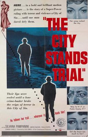 The City Stands Trial - Film poster