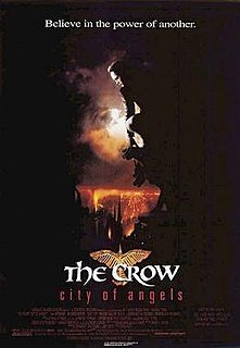 <i>The Crow: City of Angels</i> 1996 film by Tim Pope