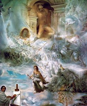 The Ecumenical Council by Salvador Dali.jpg