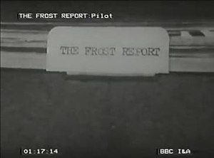 The Frost Report - Opening title from series one