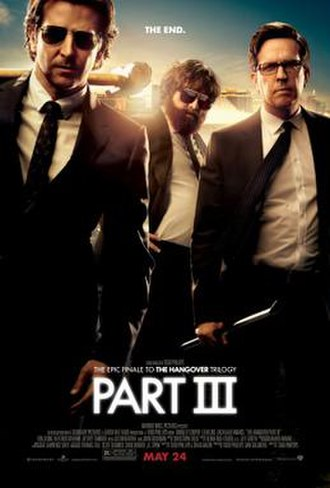 The Hangover Part III - Theatrical release poster