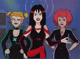 The Hex Girls Fictional eco-goth rock band