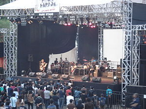Indonesian rock - Jakarta Rock Parade performance in 2008