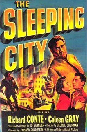 The Sleeping City - Theatrical release poster