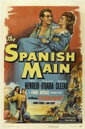 The Spanish Main - Poster