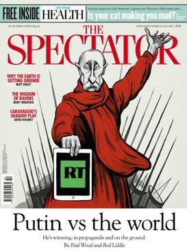 The Spectator October 2016 cover