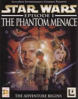 <i>Star Wars: Episode I – The Phantom Menace</i> (video game) 1999 video game