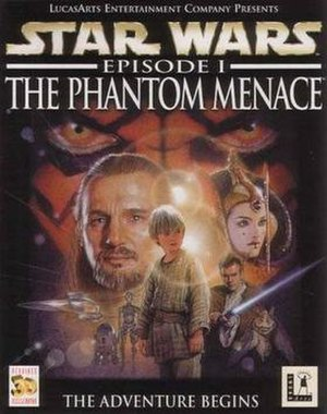 Star Wars: Episode I – The Phantom Menace (video game) - Image: The phantom menace video game