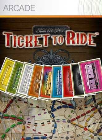 Ticket to Ride (video game) - Image: Tickettoride logo