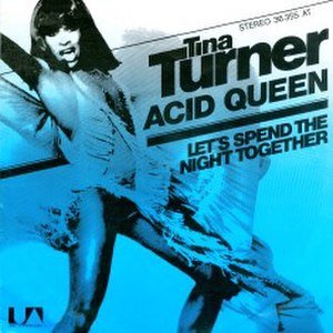 The Acid Queen - Image: Tina Turner Acid Queen (single)