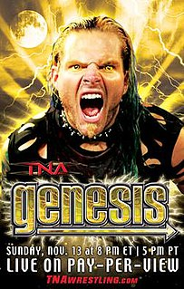 Genesis (2005) 2005 Total Nonstop Action Wrestling pay-per-view event