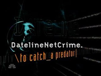 To Catch a Predator - Title card from the DatelineNetCrime era.