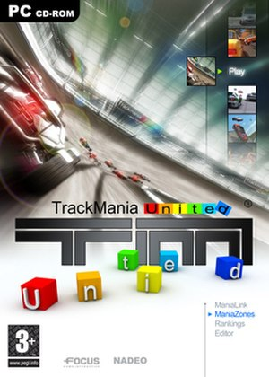 TrackMania - Image: Trackmania United Box