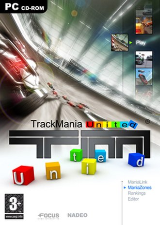 TrackMania - Image: Trackmania United Box