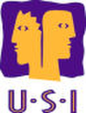 Union of Students in Ireland - Former logo of USI, replaced by the current logo in 2010.