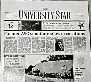 <i>University Star</i>